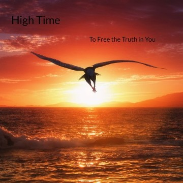 High Time Album Art | Bird Flying Over the Ocean